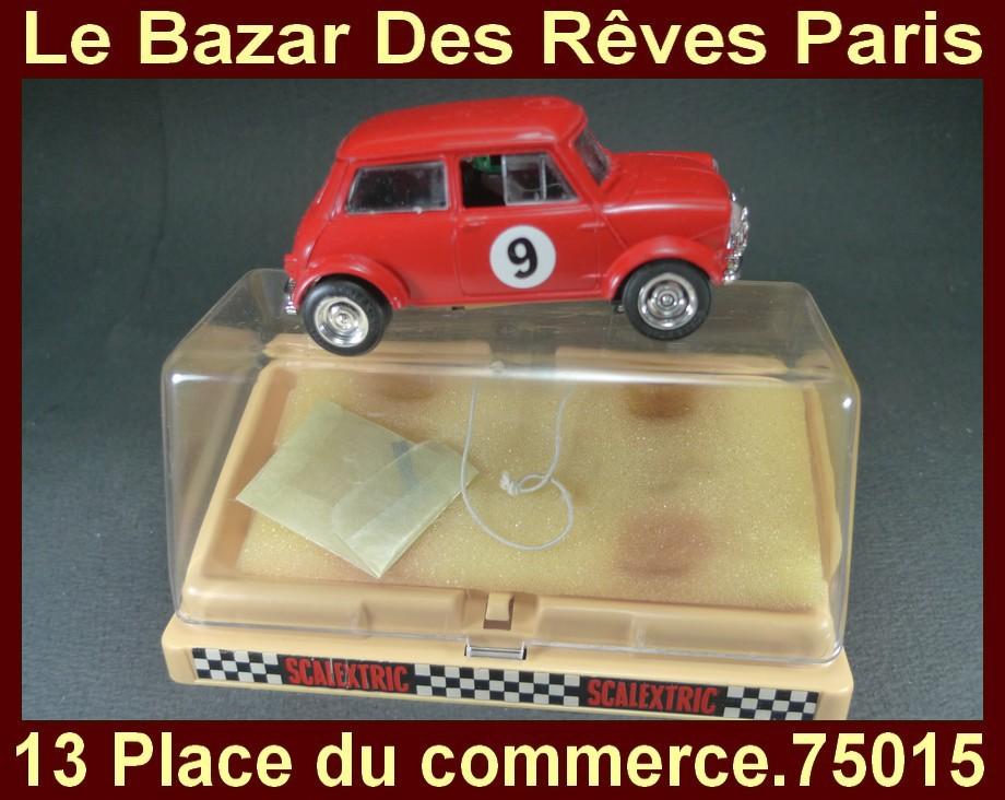 Scalextric Mini Austin Morris Boite Ref C 007 Ebay